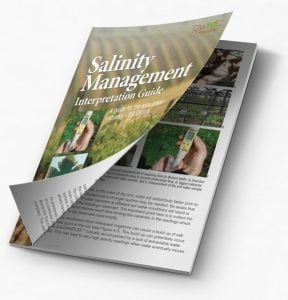 Salinity Management Interpretation Guide-a guide for the wine grape industry