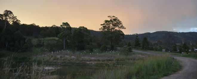 The 'Bonny Doon' at Sunset: Waste Stabilisation Pond Magic
