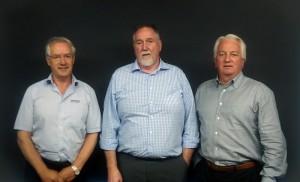 Left to right: Ken Blakers (Regal Grange), Jim Kelly (Arris) and Peter Fogarty (Pendulum Capital)